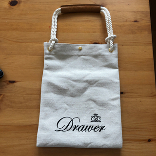 Drawer - drawer ドゥロワー ノベルティバック