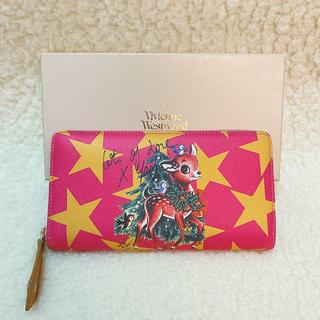 Vivienne Westwood - 新品♡Vivienne Westwood ピンク バンビ ラウンドジップ 長財布