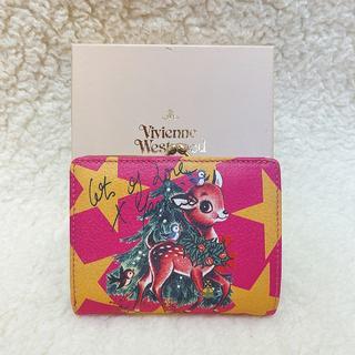 Vivienne Westwood - 新品♡Vivienne Westwood ピンク バンビ がま口折り財布