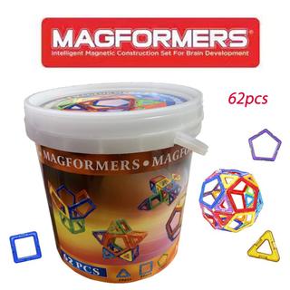 マグフォーマー magformers 62pcsセット 収納ケース付き