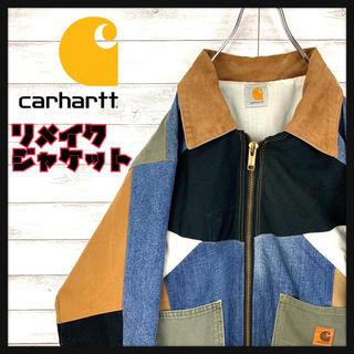 carhartt - 【希少】カーハート☆ワンポイントロゴ入りダックアクティブジャケット ビッグサイズ