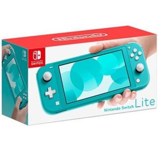 Nintendo Switch - ニンテンドースイッチライトターコイズ新品未使用