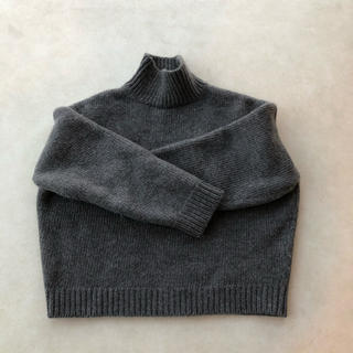 COMOLI - [AURALEE]SUPER MILLED KNIT TURTLE NECK