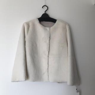 SCOT CLUB - グランターブル ファー ジャケット コート オフホワイト スコットクラブ系