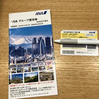 ANA(全日本空輸) - 全日空 株主優待券+ANAグループ優待冊子