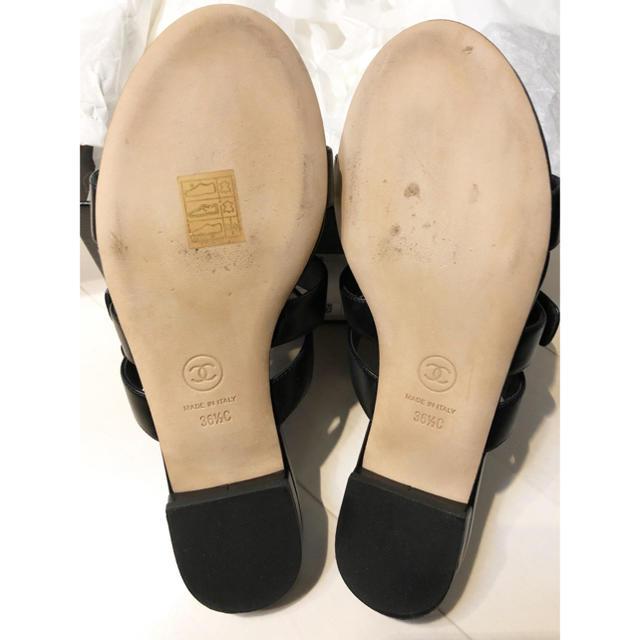 CHANEL(シャネル)のCHANELターンロックサンダル美品 レディースの靴/シューズ(サンダル)の商品写真