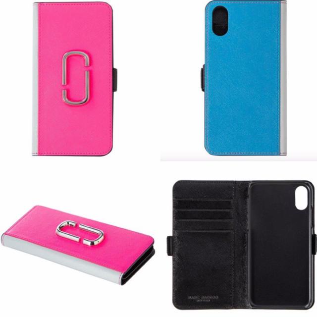 MARC JACOBS(マークジェイコブス)の新品 マークジェイコブス iPhone XR ケース ピンク スマホ/家電/カメラのスマホアクセサリー(iPhoneケース)の商品写真