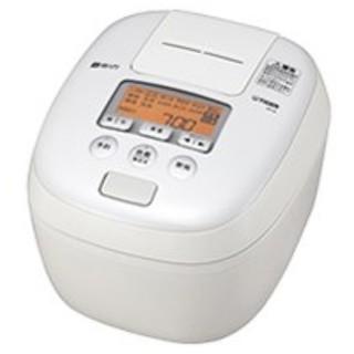 タイガー(TIGER)のタイガー 圧力IH炊飯器 JPC-B101 ホワイト★新品未使用(炊飯器)