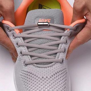 靴紐 伸びる靴紐 金具付き シューレース シューアクセサリー(その他)