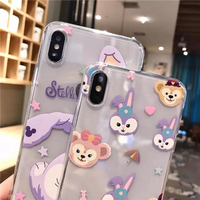 Disney(ディズニー)のディズニー ダッフィー&フレンズ ステラ・ルー iPhoneXR スマホ/家電/カメラのスマホアクセサリー(iPhoneケース)の商品写真