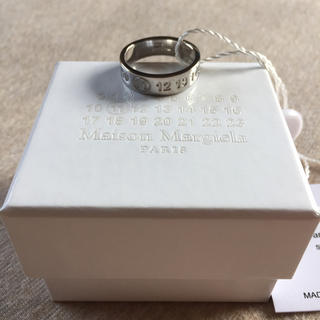 Maison Martin Margiela - 19SS新品M メゾンマルジェラ メンズ ナンバリング ロゴ リング 指輪