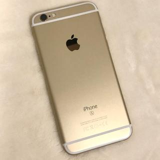 Apple - 【人気色!ゴールド、美品】iPhone6s gold 128GB simフリー