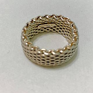 ティファニー(Tiffany & Co.)のtiffanyサマセットメッシュリング16号(リング(指輪))