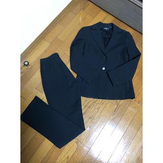 ビーシービージーマックスアズリア(BCBGMAXAZRIA)のBCBG パンツスーツ サイズ2  ブラック セットアップ(スーツ)
