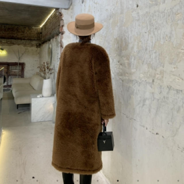 雑誌掲載♡ロングコート♡バースデーバッシュ birthdaybash レディースのジャケット/アウター(ロングコート)の商品写真
