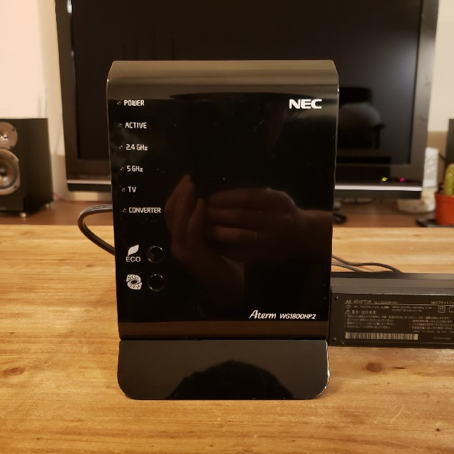 NEC(エヌイーシー)のNEC Aterm WG1800HP2 無線LAN スマホ/家電/カメラのPC/タブレット(PC周辺機器)の商品写真