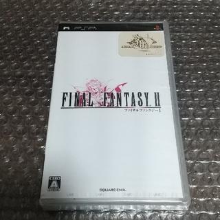 プレイステーションポータブル(PlayStation Portable)のファイナルファンタジーII ディシディアファイナルファンタジー 季節を抱きしめて(携帯用ゲームソフト)