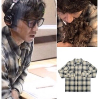TENDERLOIN - Sサイズ 正規品 キムタク着 テンダーロイン チェック ネルシャツ ウール素材
