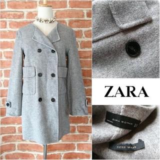 ZARA - 美品◆19990円【ZARA WOMAN*ザラ】ハンドメイドコート