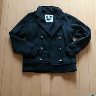 ジェニィ(JENNI)のジェニィJenni黒長袖Pコートピーコート150サイズ(コート)