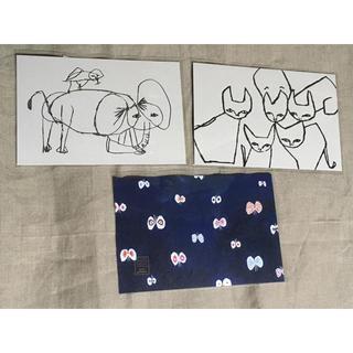 mina perhonen - ミナペルホネン ポストカード 3枚組