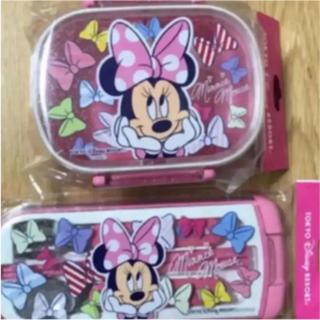 ミニーマウス - 新品 ディズニーリゾート限定 ミニー お弁当箱&カトラリーセット 在庫僅か