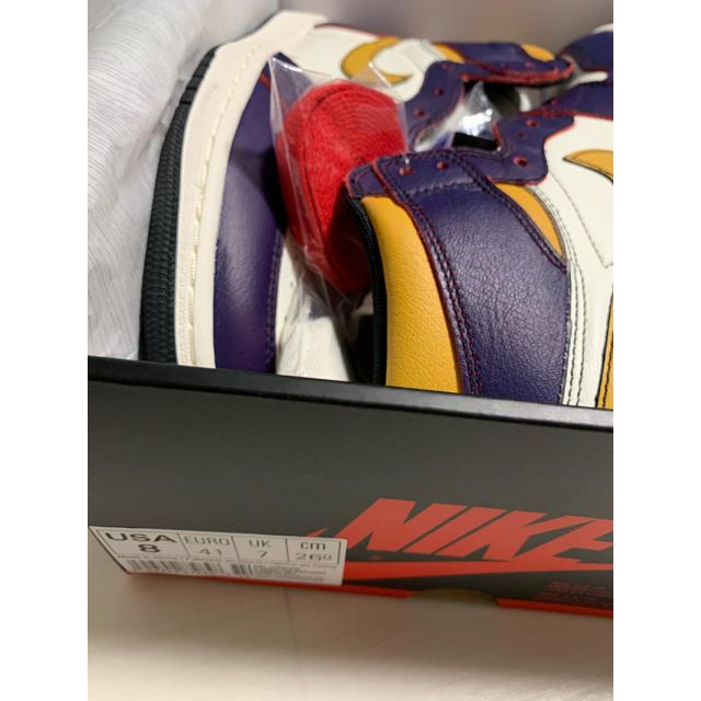 NIKE(ナイキ)のAIR JORDAN 1 aj1 SB chicago レイカーズ メンズの靴/シューズ(スニーカー)の商品写真