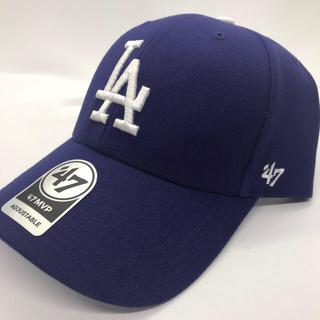 ドジャース キャップ 青 ブルー LA 47