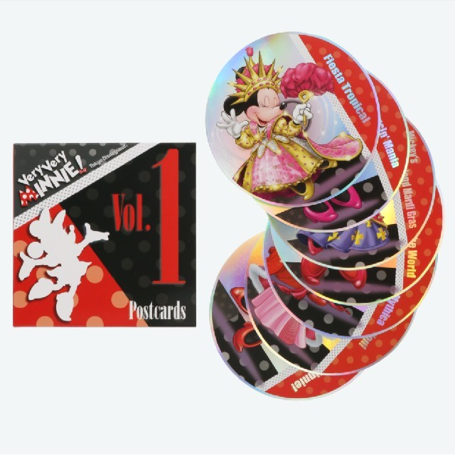 Disney(ディズニー)のベリー ベリー ミニー ポストカード vol1 エンタメ/ホビーの声優グッズ(写真/ポストカード)の商品写真