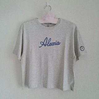 ALEXIA STAM - ALEXIA STAM 美品!刺繍ロゴ Tシャツ