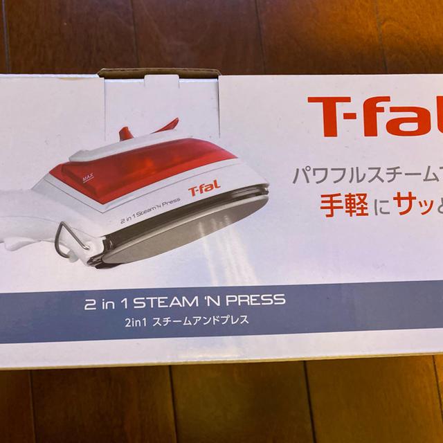 T-fal(ティファール)のティファール 2in1 スチームアンドプレス DV8610J1 スマホ/家電/カメラの生活家電(アイロン)の商品写真