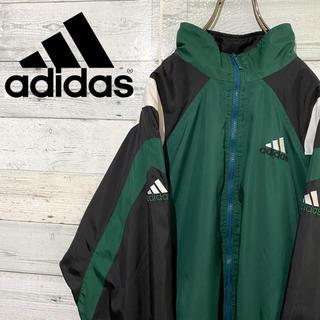 アディダス(adidas)の【激レア】アディダス☆刺繍ロゴ サイドライン ナイロンジャケット 90s(ナイロンジャケット)