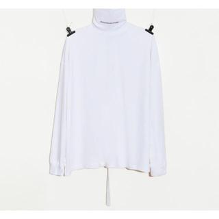 ピースマイナスワン(PEACEMINUSONE)のpeaceminusone タートルネック 白(Tシャツ/カットソー(七分/長袖))
