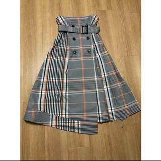 FRAY I.D - FRAY.I.D#チェックトレンチプリーツスカート#美品