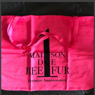メゾンドリーファー(Maison de Reefur)のメゾンドリーファー 1周年記念 ショッパー 新品未使用(ショップ袋)