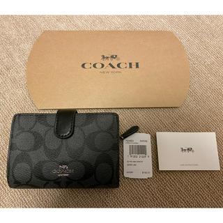 COACH - コーチ 二つ折り財布 メンズ