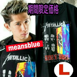 ONE OK ROCK - 半袖  L  METALLICA×GunsN'Roses