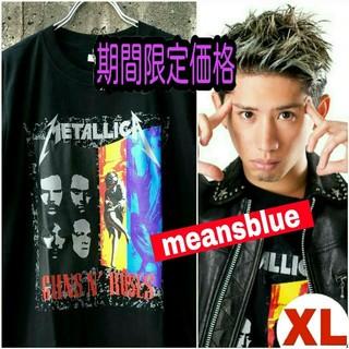 ONE OK ROCK - 半袖  XL  METALLICA×GunsN'Roses