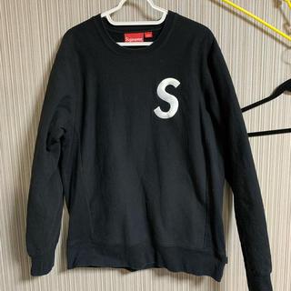 Supreme - supreme S logo クルーネック M