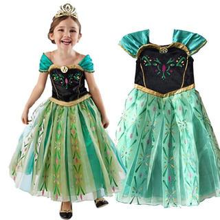 アナトユキノジョオウ(アナと雪の女王)のアナと雪の女王ドレス アナドレス ❤️サイズ120(ドレス/フォーマル)
