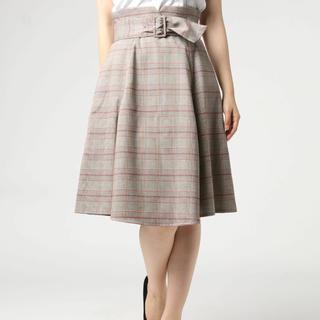 PROPORTION BODY DRESSING - プロポーションボディドレッシング チェックフレアスカート