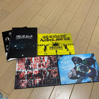 ONE OK ROCK DVD4点セット!!