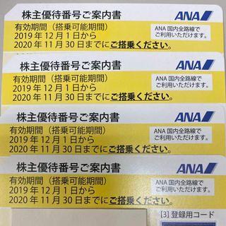 ANA株主優待券 8枚セット