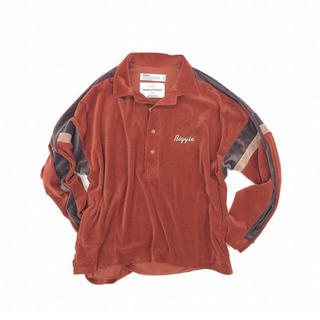 "SUNSEA - DAIRIKU 19AW ""Biggie"" Velor Shirt"