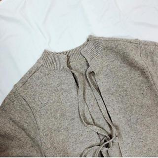 BEAUTY&YOUTH UNITED ARROWS - little suzie 2way Ribbon Knit