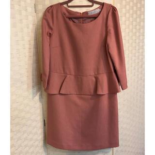 クチュールブローチ(Couture Brooch)のクチュールブローチ 7分袖ワンピース(ひざ丈ワンピース)