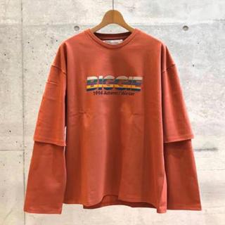 "JOHN LAWRENCE SULLIVAN - DAIRIKU 19AW ""BIGGIE"" Layered T-Shirt"