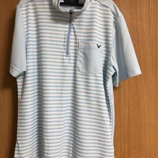 キャロウェイゴルフ(Callaway Golf)のジップポロシャツ(ポロシャツ)