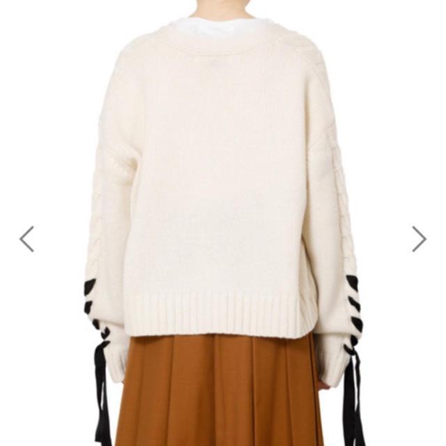 LE CIEL BLEU(ルシェルブルー)のLE CIEL BLEU Cable Knit Cardigan レディースのトップス(ニット/セーター)の商品写真