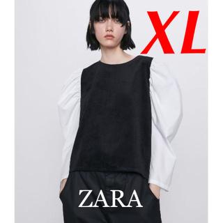 ZARA - 新品 完売品 ZARA XL コーデュロイ スリーブ トップス